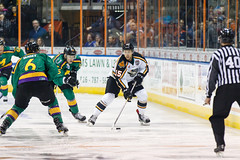 "Missouri Mavericks vs. Quad City Mallards, January 21, 2017, Silverstein Eye Centers Arena, Independence, Missouri.  Photo: John Howe / Howe Creative Photography • <a style=""font-size:0.8em;"" href=""http://www.flickr.com/photos/134016632@N02/32487054746/"" target=""_blank"">View on Flickr</a>"