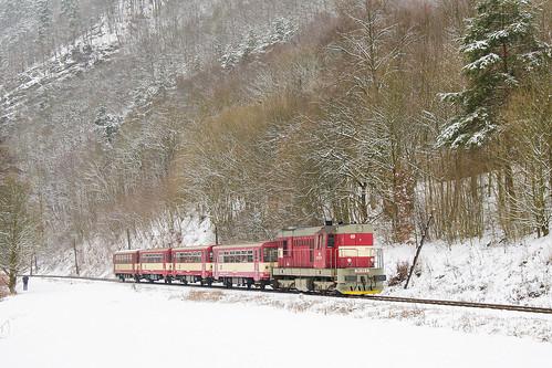 742.014-4 ČD, Os 14912, Borač – Prudká zastávka