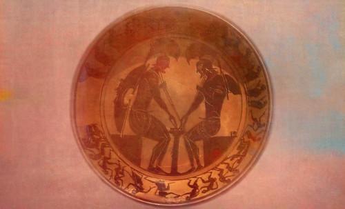 "Petteia - Ludus Latrunculorum  / Iconografía de las civilizaciones helenolatinas • <a style=""font-size:0.8em;"" href=""http://www.flickr.com/photos/30735181@N00/32522205485/"" target=""_blank"">View on Flickr</a>"