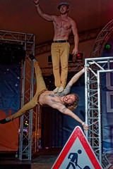 Duo Ingravido (mattrkeyworth) Tags: sel55f18z frankschmidpeter pierrepütz duoingravido gymnasts muscular sonya7r male würzburg umsonstunddraussen udwue2015 udwue people sonnartfe1855 zeiss
