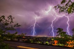 June 15-2 (mtronnow (msthackeray)) Tags: longexposure nightphotography storm june night clouds utah ut photoaday bolt lightning 365 summerstorm lightningstorm