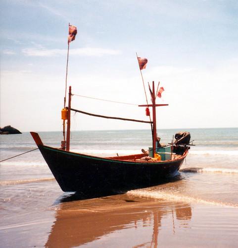 Hua Hin Gulf of Thailand 1998 Boat