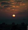 ship on sunset (barak.shacked) Tags: sunset sea sky sun clouds boat ship sundown orangesky haifa purplesky bigboat seasky seasun orangesun sunsetonthesea siluate