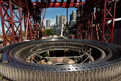 Gearing up for Bertha's reassembly (WSDOT) Tags: seattle construction machine gp repairs bertha 2015 tunneling reassembly wsdot alaskanwayviaductreplacement sr99tunnel
