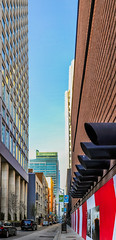 peppermint minna (pbo31) Tags: sanfrancisco california city red summer urban panorama color architecture hotel alley nikon infinity sfmoma large august panoramic structure soma stitched stregis 2015 minnastreet boury pbo31 d700
