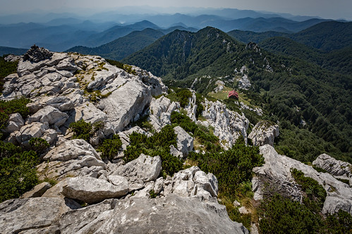 View from Mount Risnjak