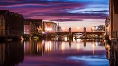 Bakke bru (B Eilertsen) Tags: bridge norway night river norge bluehour trondheim natt nidelva bltime bakkebru