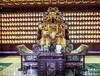 God of Wealth (kasiahalka (Kasia Halka)) Tags: unescoworldheritagesite giantwildgoosepagoda bigwildgoosepagoda buddhistpagoda tangdynasty 652 morningbell godofwealth xuanzang xian china