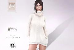 GROUP GIFT! Suéter Tejido de Tienda SCANDALIZE (livaana.resident) Tags: suéter