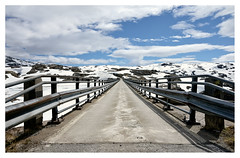 The future is bright (leo.roos) Tags: bridge bron brug snow sneeuw 362012 norway noorwegen 2012 spring lente darosa leoroos norwayspring2012 a900 sonyczvariosonnar247028 zeiss