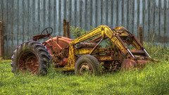 Tractor (Paul Rioux) Tags: bc chilliwack farm rural country outdoor tractor old abandoned forgotten decay decayed decaying rust rusty rusting agriculture prioux