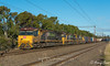 Western Wanderer (Henrys Railway Gallery) Tags: 6005 6010 6012 6000class ge diesel goninan 7mp1 mp1 newport freighttrain loadedfreighttrain containertrain loadedcontainertrain aurizon qr qrnational qrn