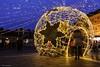 Advent (Laszlo Horvath 1,5 M+ views tx :)) Tags: eger advent hungary christmas light cube nikon nikond7100 sigma1835mmf18art bluehour night dobó