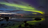 Reflecting Aurora (Frank S. Andreassen) Tags: aurora northern lights night nature reflections borealis green water ocean fjord sky arctic clouds frank andreassen nettfoto winter norway nordnorge nordlys nordland lovik andøya landscape