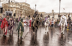 170101 0536 (steeljam) Tags: steeljam nikon d800 london new year parade lights camera action lawrence arabia horse