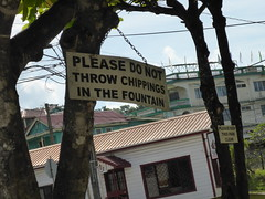 Sign, San Ignacio, Belize
