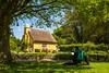 Artist at work (technodean2000) Tags: artist work thatch cottage merthyr mawr south wales uk colour bridgend nikon d610 lightroom