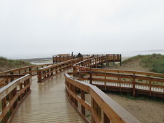 Walkway (daveandlyn1) Tags: anglesey walkway holiday beach sx30is powershot canon