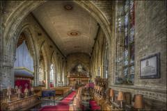 Olney Church Interior 4 (Darwinsgift) Tags: olney church buckinghamshire england pce nikkor tilt shift 24mm f35 nikon d810 hdr photomatix interior