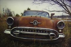 Rust and Chrome (dbs1953) Tags: oldsmobile rust chrome arkansas hebersprings