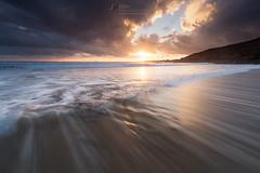 Light (T_J_P) Tags: cornwall sunset clouds coast nature ocean rocks sea seascape sun light golden tide tidal shore