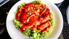 เนื้อย่างหมักซอส สุดอร่อยของร้านดูเร DooRae Korean BBQ Restaurant