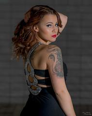 20170115 (Toisto) Tags: photoshoot dress glamour shadow nikon nikkor beautiful tattoo women girl model