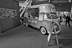 DSC_5892 (littleirons) Tags: icecream gelato motorshow bologna auto car blackandwhite biancoenero bully volkswagen