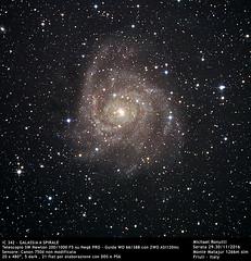 IC342 (Michael Ronutti) Tags: skywatcher newton 2001000 canon 750d neq6pro galaxy universe deepsky astrophotography