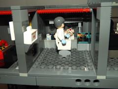 DSCF2250 (Nilbog Bricks) Tags: star wars lego moc minifigures stormtrooper base barracks