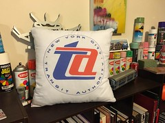 TA cushion (DFunk streetwear) Tags: dfunk dfunkstreetwear df dfunkcushion desta destaone graffiti train station loungedecor decor pillow crib sydney cityrail staterailauthority vintage clothing apparel spraypaint