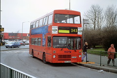 First Manchester 5082 (ORJ 82W) (SelmerOrSelnec) Tags: firstmanchester mcw metrobus orj82w hyde 343 gmt bus