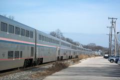 SuperlinersWauwatosaWI2-10-17 (railohio) Tags: cp amtrak trains wauwatosa wisconsin v3 021017 empirebuilder 8 28 superliner