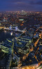 View over More London Riverside (zzapback) Tags: city bridge blue panorama london tower thames architecture night towerbridge evening nikon cityscape view riverside capital piano hour wharf canary canarywharf shard xl londen the d810 theshard moreoflondon zzapback