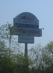 Factory Outlet of America Sign (Random Retail) Tags: plaza abandoned sign retail store tn 2015 blountville factoryoutletofamerica