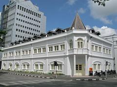Printing Office (fmr), Cnr Barrack Road and Khoo Hun Yeang Road, Kuching, Sarawak (#01) (geoff-inOz) Tags: building heritage architecture sarawak malaysia borneo kuching printingoffice brookeera