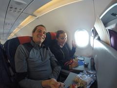 Photo de 14h - Dans l'avion pour la Nouvelle-Calédonie - 24.05.2014