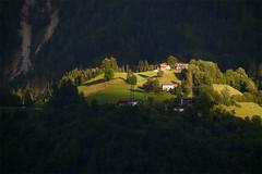 Spotlight (xeno.odem) Tags: light mountain forest atmosphere settlement diamondclassphotographer platinumheartaward