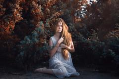 (AdiDekel) Tags: light orange color beach nature girl