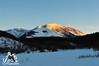 Tramonto sulla Majella con la neve - Abruzzo - Italy