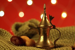 دله وتمر (gm2000saa) Tags: red texture coffee fruit dubai islam traditional uae eid middleeast culture arabic celebration arab arabia tradition dates ramadan burlap iftar serve