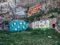 Parc de la Corderie / Marseille (bor Is) Tags: graffiti graff bane pote yah togep