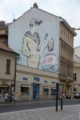 Praha Jindriska (pineider) Tags: wall graffiti europa europe boobs euro titts praha praga topless murales praag toplesstetteboobstitts