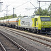 CFL Cargo 185 534-5 met tankwagons, Bad Bentheim, 16 juli 2015