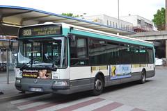 RATP Paris 7356 BV-287-ZC (Will Swain) Tags: city travel paris france bus buses french europe capital north transport pablo july des east picasso transports 13th ratp bobigny  2015 parisiens rgie autonome 7356 bv287zc