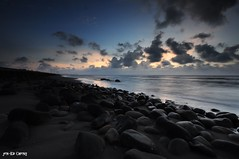 -sunset (jen-kai) Tags: life sunset sea sky sun rock nikon taiwan sigma      d90