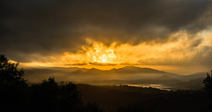 Winter morning in Andalusia (mcumminsphotos) Tags: axarquia december lakevinuela mist andalusia winter mountains misty