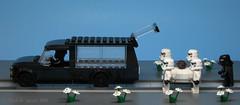 Rail Hearse (dr_spock_888) Tags: lego moc trains star wars princess leia darth vader stormtrooper tie pilot hearse casket coffin