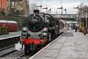 76084 - 1957 build Standard 4MT Steam Locomotive at Bury, Bolton Street Station