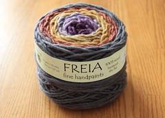 Freia Fine Handpaints Ombre Grande (ChaucerCat) Tags: knit knitting yarn ravelry eatsleepknit esk freia ombregrande
